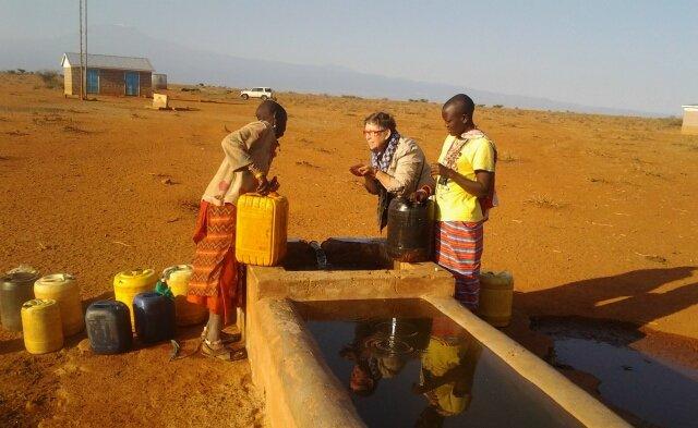 Nchakita : l'eau coule !